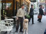 関根さんと愛犬?